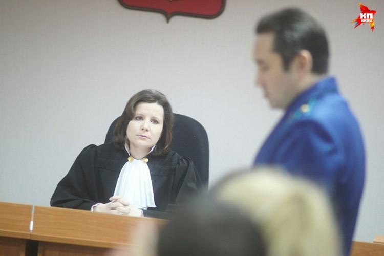 Светлана Рябова растрогала судью