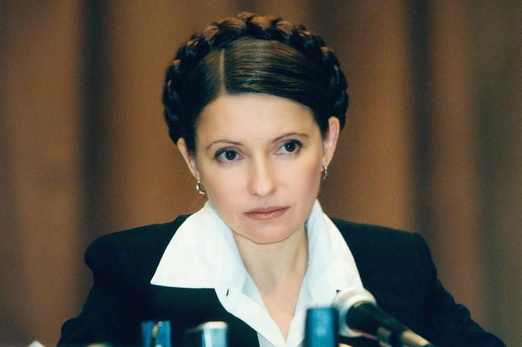 Первое появление Юлии с косой вокруг головы. Тогда Тимошенко еще была брюнеткой. Фото: EAST NEWS.