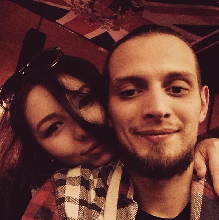 Серафима с мужем.