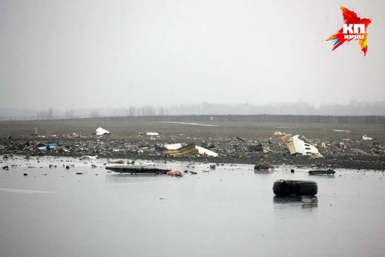 Первые снимки с места катастрофы дают понять, что спастись ни одного шанса у пассажиров и экипажа не было. Фото: Правительство Ростовской области