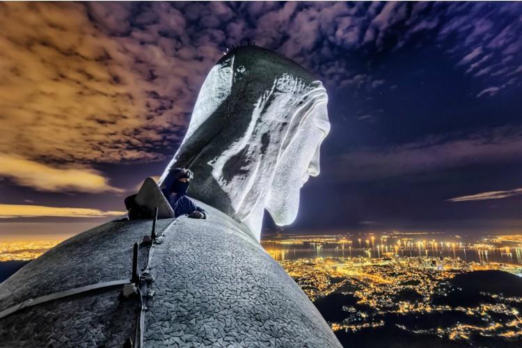 """Статуя Христа Искупителя в Рио-де-Жанейро. Фото: Вадим Махоров. Предоставлено музеем """"Эрарта"""""""