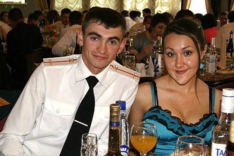 Александр с супругой Екатериной.