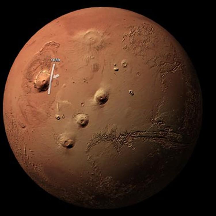 Гигантские вулканы, которые могли превратить весь Марс в Помпеи.
