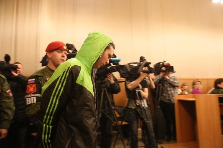 Александр Томский, по версии следствия, самый опасный злодей.