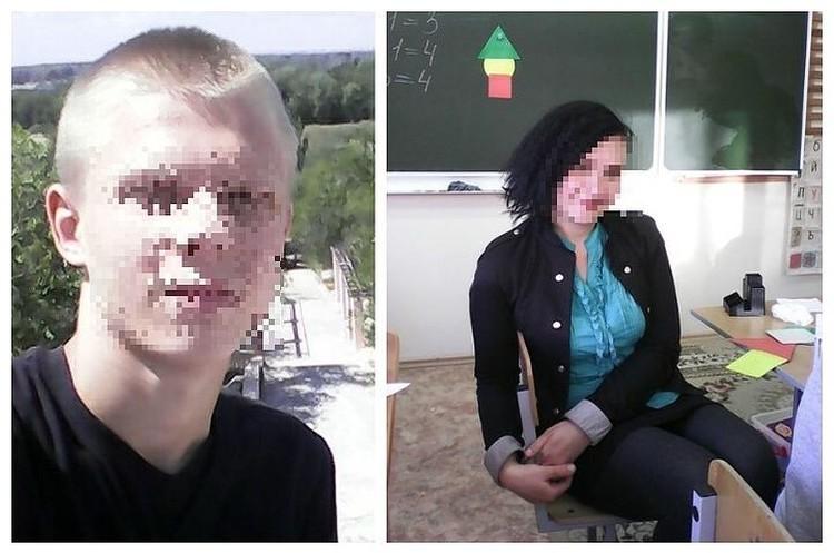 История 15-летнего подростка и 28-летней учительницы поделило общество на два лагеря. Фото с личных страничек героев публикации.