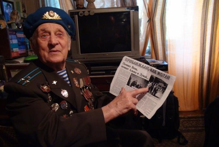 Сергей Васильевич долго и охотно рассказывает нам о своем боевом пути