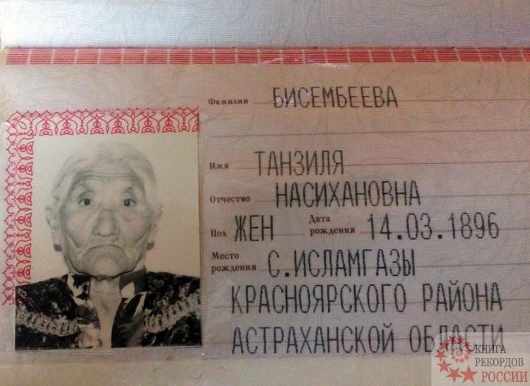 Родилась бабушка Танзиля 14 марта 1896 года, а в мае короновали последнего российского императора Николая II. Фото:knigarekordovrossii.ru