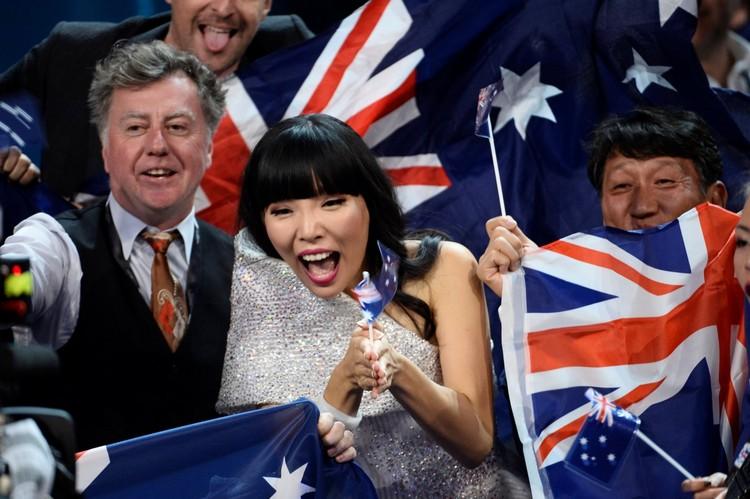 Представительница Австралии.