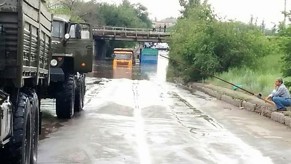 фото наводнение в волжском россии этим