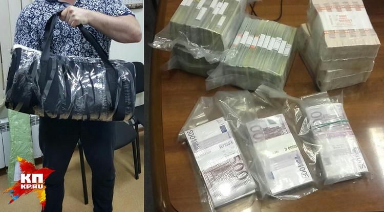 Часть денег нашли в квартире у чиновника, другую часть он хранил в банковской ячейке.