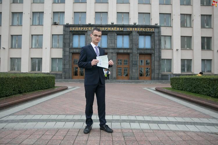 С Владиславом мы встретились в первый день подачи документов - утром 8 июля.