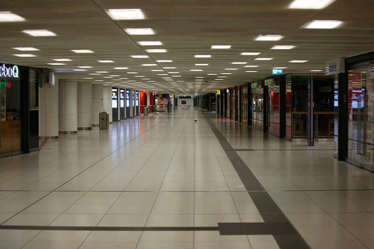 Мюнхенская подземка закрыта