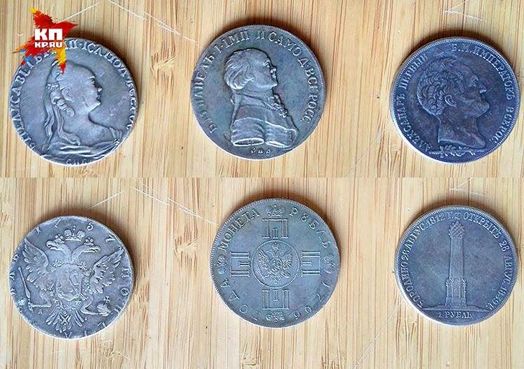 """Подобные подделки царских рублей массово """"ушли в народ"""" года два назад."""