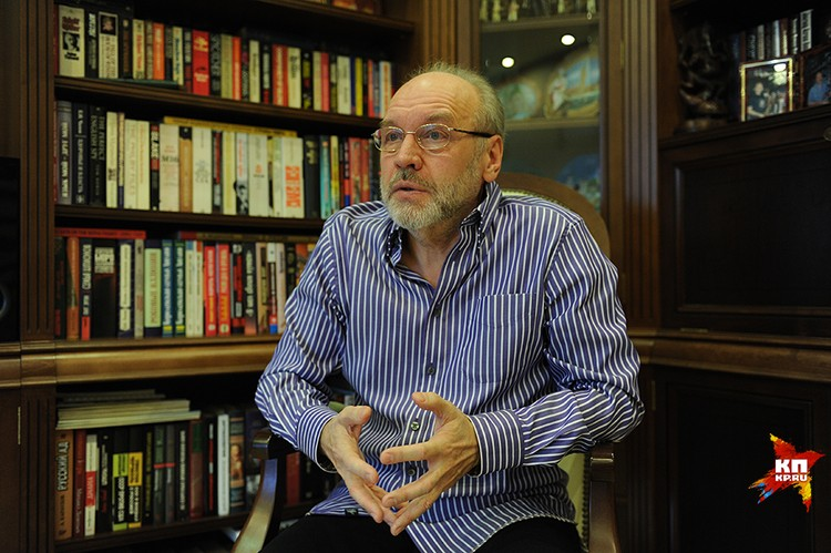 Писатель-исследователь, историк разведки Геннадий Соколов