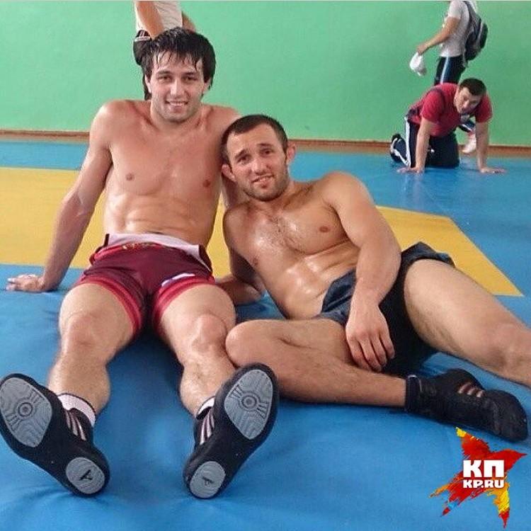 Бесик Кудухов (справа) был для Сослана Рамонова и кумиром, и наставником, и другом