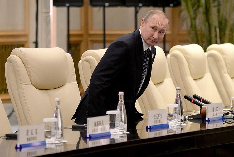 Владимир Путин дал интервью агентству «Блумберг»