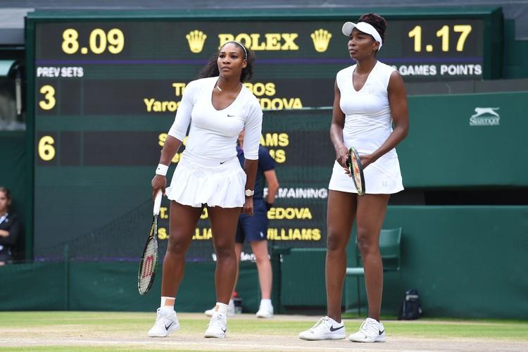 Сестры Серена и Винус Уильямс на Олимпиаде в Рио не смогли выиграть никаких медалей.