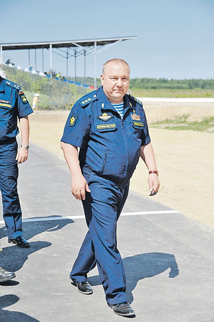 Владимир Шаманов, командующий ВДВ.