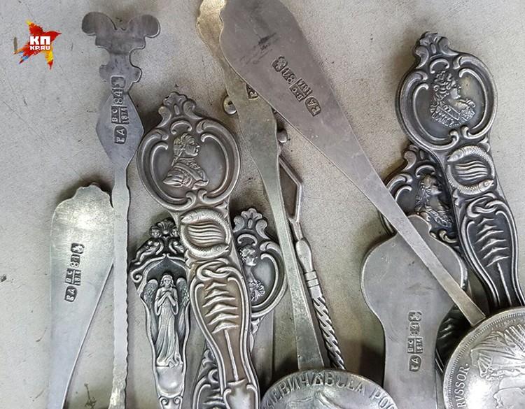 На изделиях неизвестных мастеров ставят старинные пробирные клейма