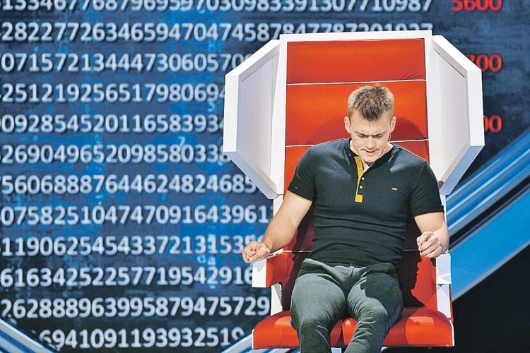 Невероятно: Артем Гарин помнит число пи вплоть до 10 101 цифры после запятой. Фото: Канал «Россия»