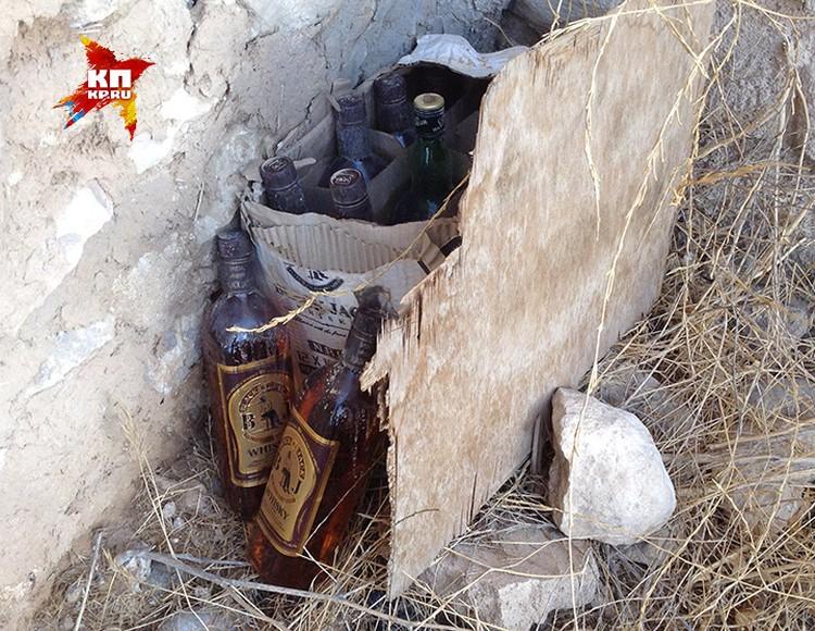 Ящик с иорданским виски.