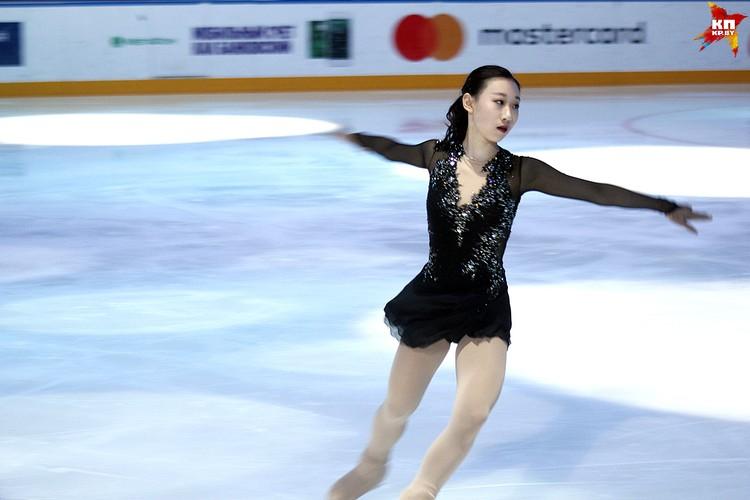 Выступление представительницы из Кореи, 2 место. Фото: РОЛЬСКИТЕ Мария