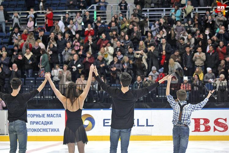 В конце соревнования зрителей ждал концерт с участием всех победителей. Фото: РОЛЬСКИТЕ Мария