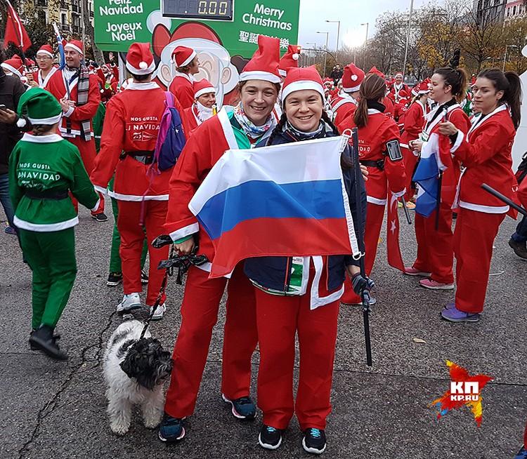 Более 60 флагов можно было наблюдать в руках бородачей из разных уголков мира, среди которых был и флаг России.