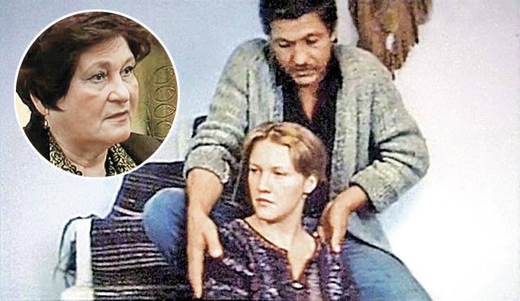 Елена Проклова уверяет: их роман с Волонтиром разгорелся в 1983 году в Кишиневе. Они сыграли главные роли в картине «Будь счастлива, Юлия!». В круге - вдова Волонтира - Ефросинья. Фото: кадр из фильма, Первый канал