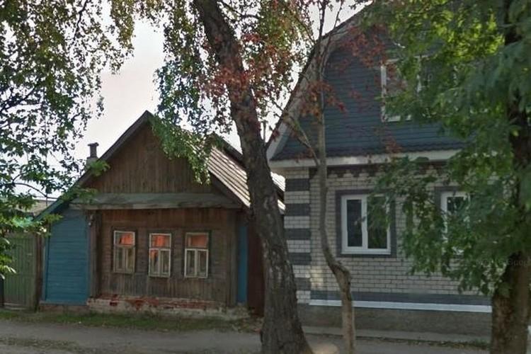 Летчик Авдеенко вырос в этом маленьком деревянном домике. Фото: Наталья Дзюба
