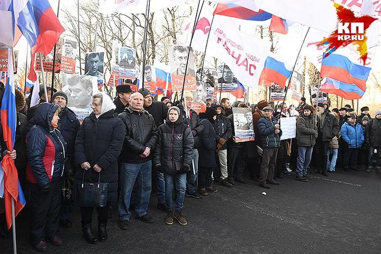 Борис Немцов был застрелен в ночь на 28 февраля 2015 года в центре Москвы.