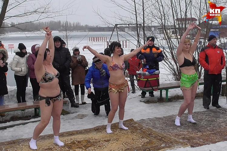 Чемпионат по зимнему плаванию в Липецке