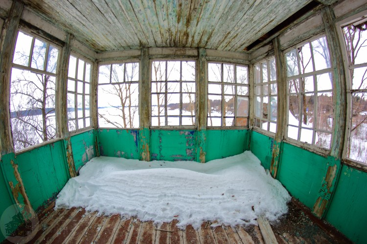 Веранда на втором этаже. Фото: Дмитрий Солодянкин