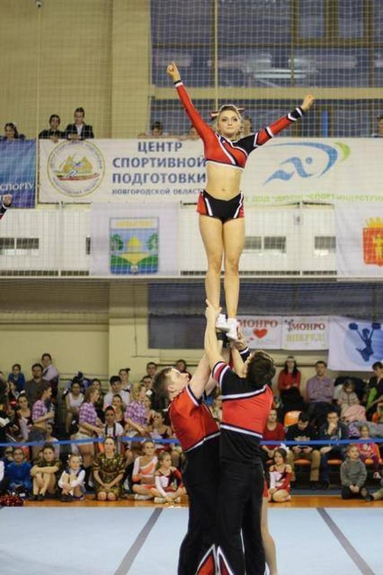 Фото: Федерация черлидинга Санкт-Петербурга