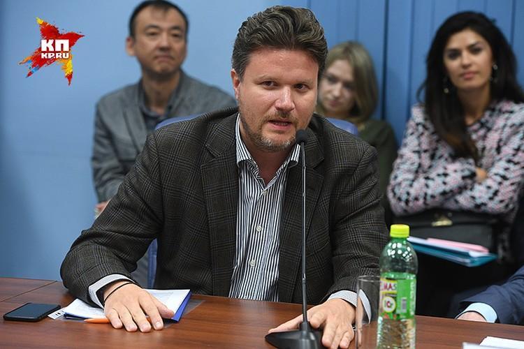 Представитель Союза потомков галлиполийцев Петр Сезнек.
