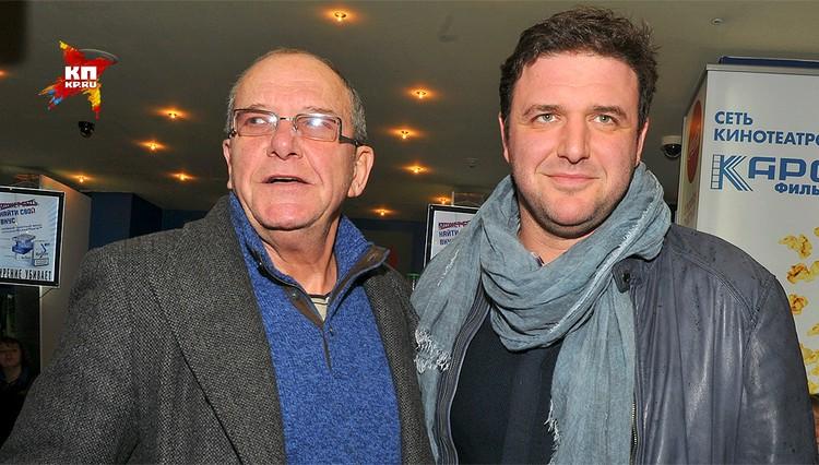 Эммануил Виторган с сыном Максимом.