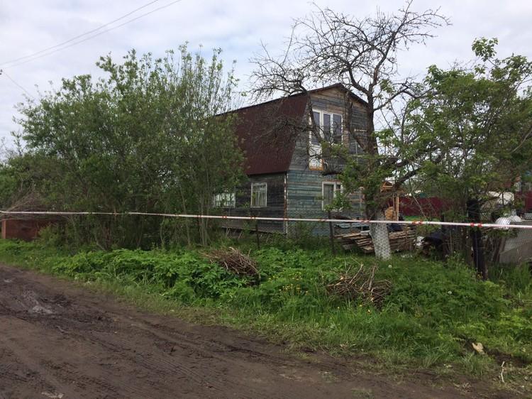 Место трагедии оцеплено. Фото: СУ СК ФР по Тверской области