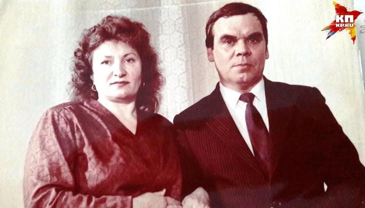 Зоя Туганова со своим мужем