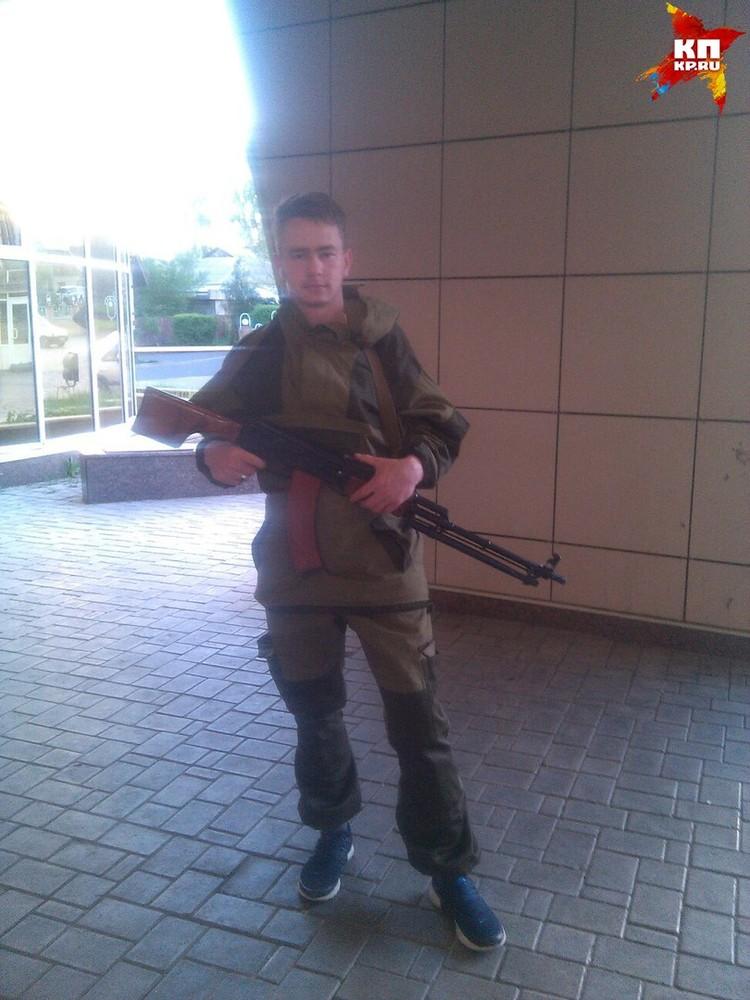 Паша служит в спецназе