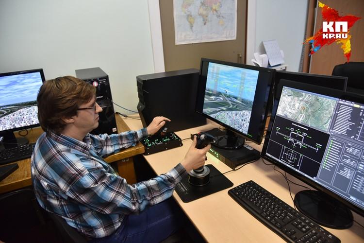 Система тестирования моделей помогает авиаторам испытывать новые самолеты.