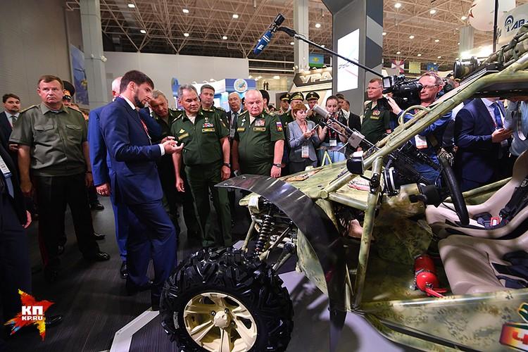 «Чаборз» – это уникальный военный багги конструкции и производства Российского университета спецназа, что под Гудермесом