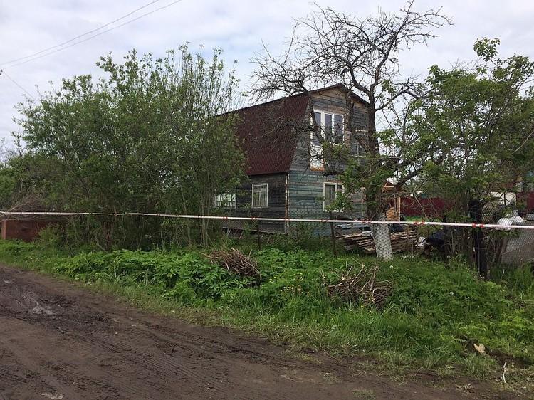 Всё случилось на этом дачном участке. Фото СУ СК РФ по Тверской области.