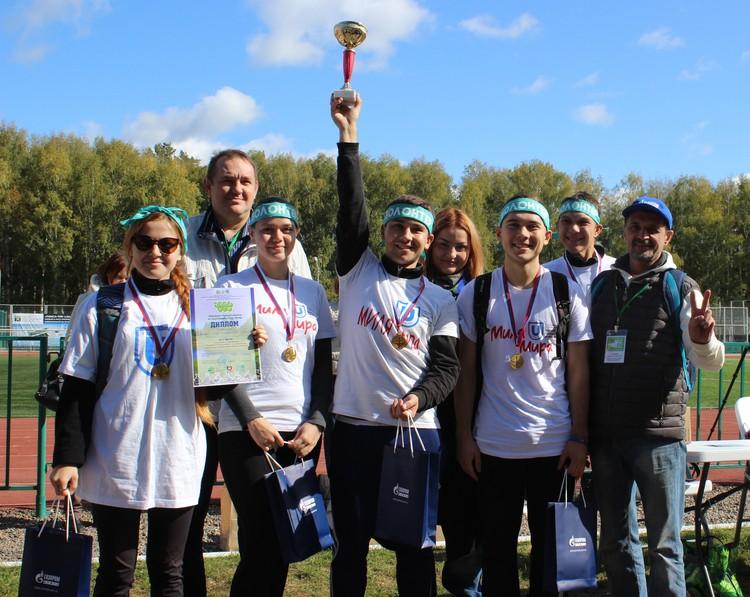 Победу на первом этапе одержала команда геолого-географического факультета ТГУ с результатом 123,96 кг.