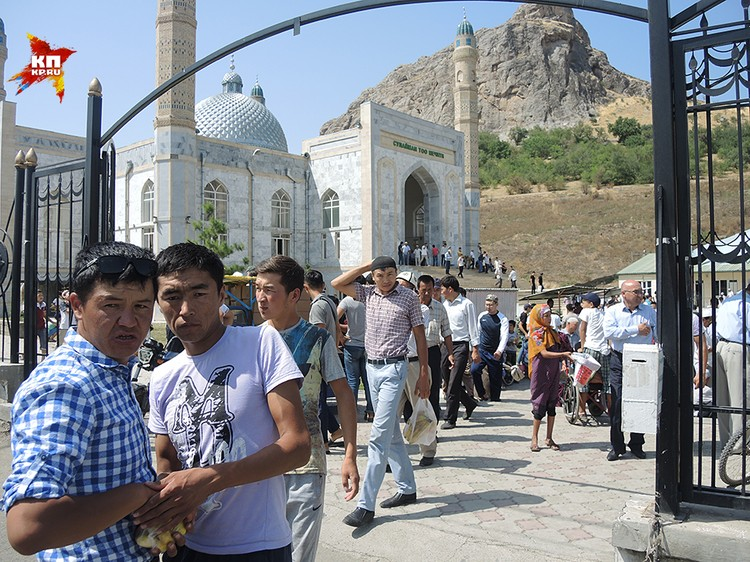 Мечеть в городе Ош