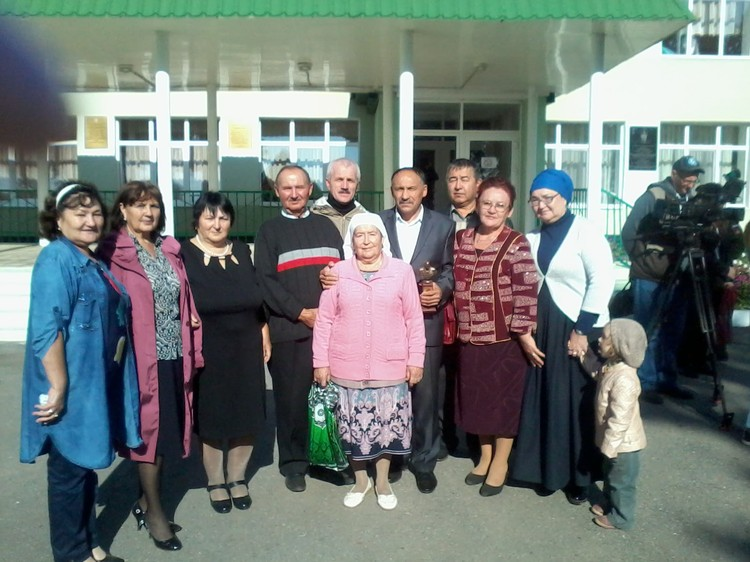 Семья Марата Ахметшина.