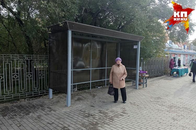 Новая остановка на «Краевой»