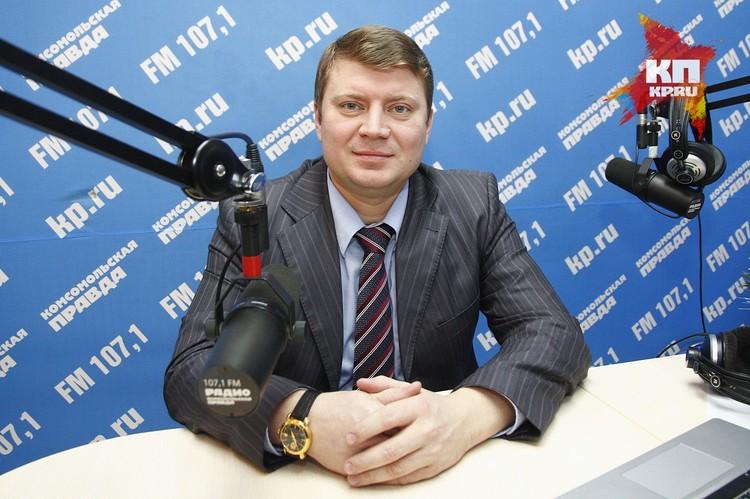 Сергей Еремин, и.о. министра транспорта Красноярского края, набрал 1799 баллов