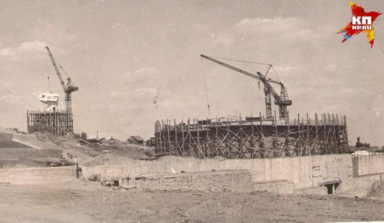 Так выглядел будущий пантеон в мае 1964 г. Фото: Музей-заповедник «Сталинградская битва».