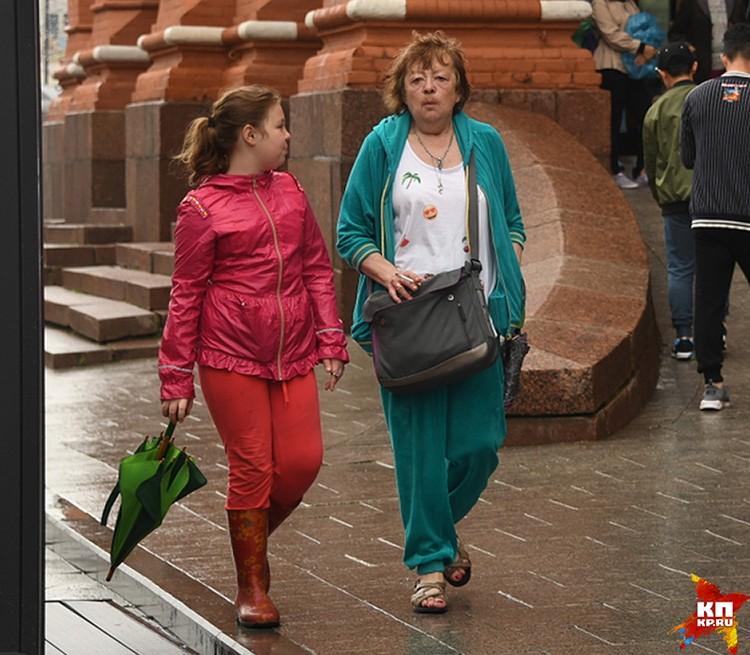 Дочь Гурченко Мария и внучка Елена