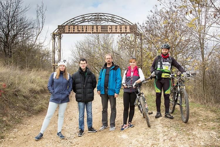 Экологическая экспедиция студентов КФУ на ООПТ «Плачущая скала».
